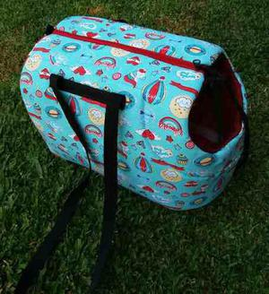 Bolso transportador de mascota perro gato