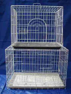Canil perro gato jaula cria plegable epoxi n2 pet shop beto