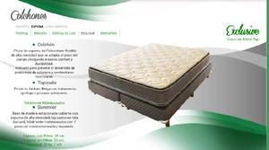 Cannon, sommier exclusive con pillow top (200x160)
