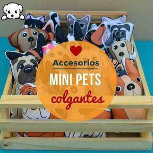 Mini pets colgantes perro gato mascota pitbull mestizo