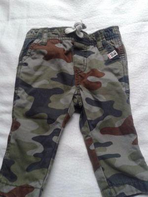 Pantalón carters 3m con polar verde gris use 1 vez