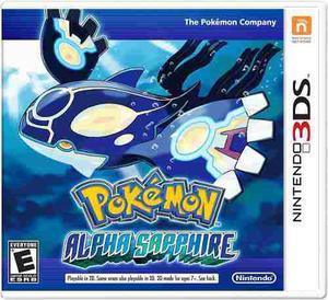Pokemon alpha sapphire nintendo 3ds fisico sellado !!!