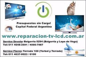 Reparación y servicio técnico de monitores lcd y led, hp,