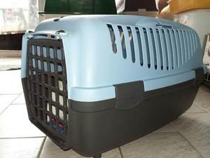 Transportadora perro gato n 2 hasta 8 kilos. exc. calidad