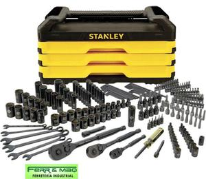 Caja con juego de herramientas stanley 203 pzs. stmt75069 acba83602698