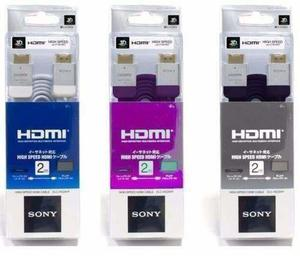 Cable hdmi sony premium full hd 1080p 3d led lcd xbox one