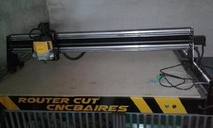 Maquina router cnc, mdf, acrílico, polyfan