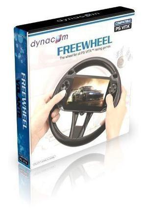 Volante dynacom freewheel para ps vita nuevo cerrado