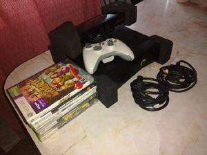 Xbox 360 4gb con kinect 7 juegos joystick