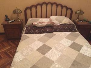 Juego de dormitorio completo roble