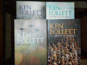 Libros coleccion kent follett - 23 libros