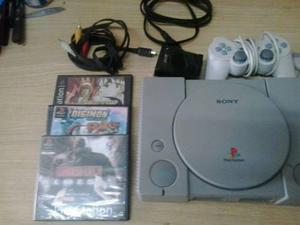 Playstation 1 completa andando