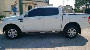 Vendo camioneta ford ranger 4x4 2013, impecable 90.000 km,