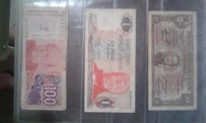 Billetes antiguos y de colección