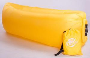 Colchon sillon inflable el buen saul - goodbag lazy bag puff