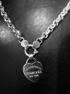 e70c5452ad7e Collar tiffany plata   REBAJAS Mayo