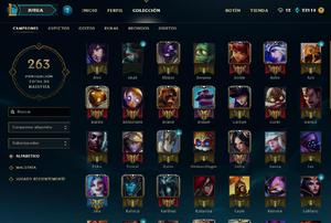 Cuenta lol league of legends las con lux elementalista y