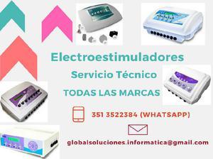 Electroestimuladores servico tecnico
