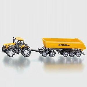Siku 1858 tractor jcb dolly and tipping 1:87