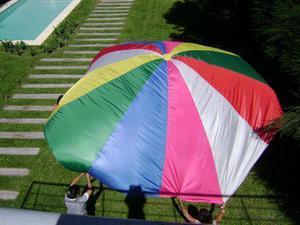 Paracaídas juegos didacticos