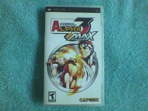 Juegos psp street fighter alpha 3 max original inconseguible