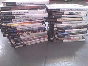 Lote 27 juegos ps2 playstation 2 sin rayas oferta