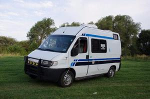 Mini motor home fiat ducato