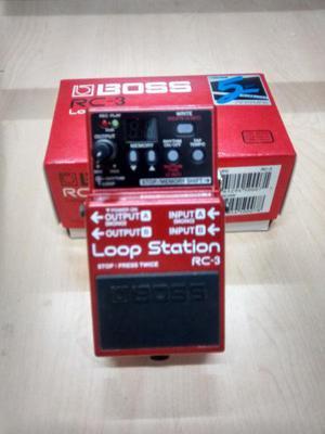 Pedal boss rc-3 looper nuevo 3hs grabación