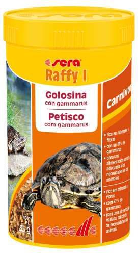Sera raffy i 35g alimento reptiles anfibios terrario
