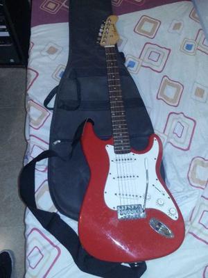 Vendo guitarra eléctrica amplificador sin usó