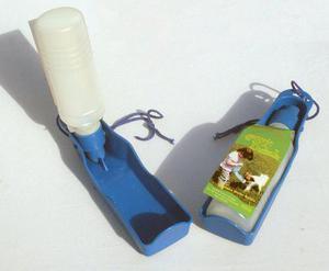 Bebedero portatil para mascotas de 250ml