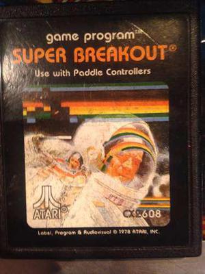 Cartucho juego atari 2600 - super breakout