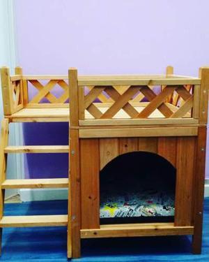 Casa perros gatos anuncios junio clasf - Casas para gatos de madera ...