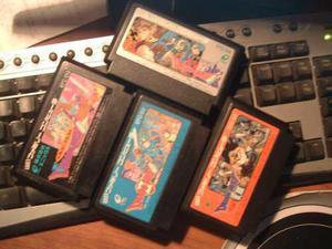 Dragon quest 1-2-3-4-famicon original japan-prod. enix -
