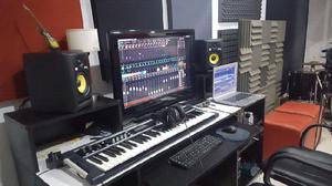 Lm music - estudio de grabacion