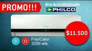 Promo dic, aire acondicionado f/c philco, instalaciòn y