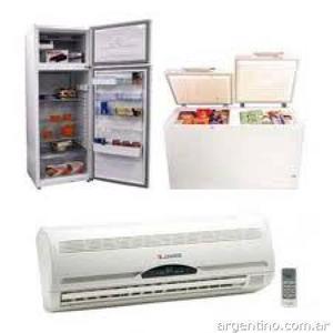 Reparacion heladeras y aires acondicionados carga de gas