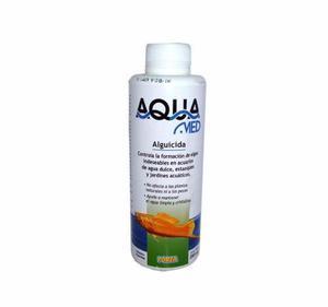 Aquamed alguicida 250cc elimina algas acuario estanque peces