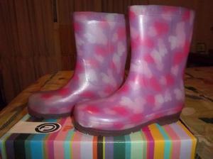 zapatos de separación c7c7e d426e Botas de lluvia para niñas