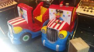 Kiddie camion interactivo con pantalla