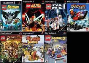 Lego ps2 lego coleccion ps2 sony playstation 2 (7 discos)