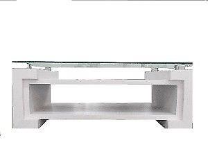 Mesa ratona living vidrio anuncios junio clasf for Mesa algarrobo usada