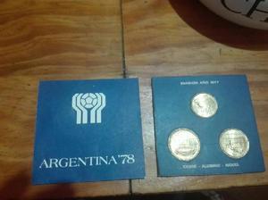 Monedas conmemorativas mundial 1978