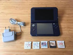 Nintendo 3ds Xl 5 Juegos Cargador En Cordoba Ofertas Enero