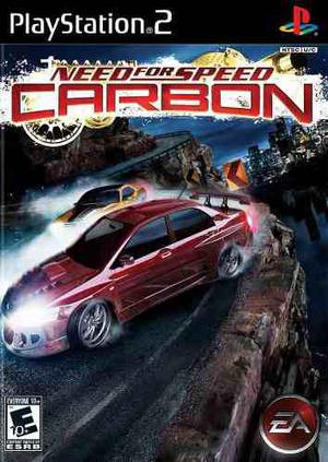 Need for speed carbon para ps2 chipeada