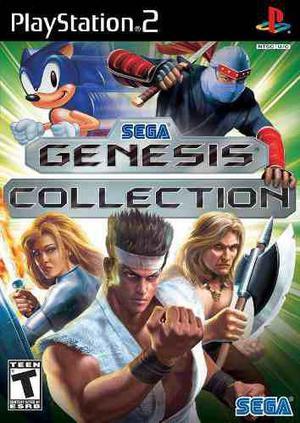 Sega genesis collection para ps2 chipeada