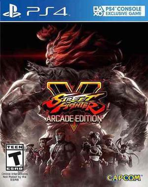 Street fighter v arcade edition ps4 cd nuevo sellado