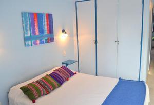 Alquiler confortable depto temporario 2 ambientes en b°