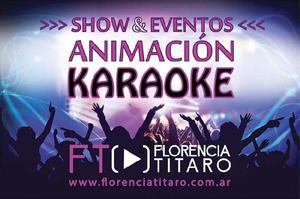 Animación fiestas karaoke show cantante eventos