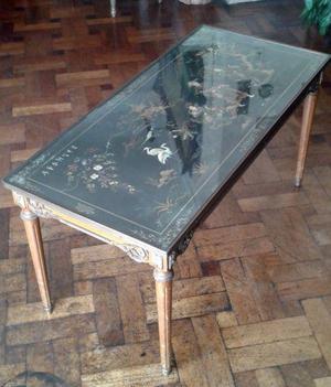 Antigua mesa ratona china